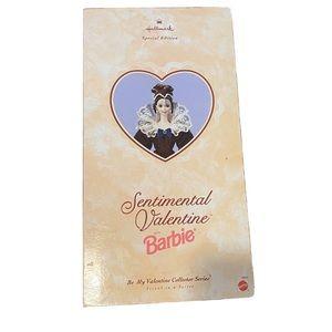 1996 sentimental valentine barbie vintage